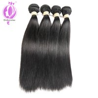 100% Unprocessed straight Brazilian Hair Virgin Human Brazil...