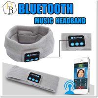 bluetooth Kafa Eşarp Kulaklık Yoga Şapka Spor Kulaklık Kablosuz El Bant Earplug Müzik Çalar Handphone Handfree