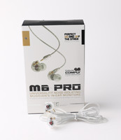 MEE audio M6 PRO Universel-Fit Écouteurs-Isolant de bruit Musicien In-Ear Moniteurs casques Filaire Écouteurs Avec Emballage Au Détail 20 pcs