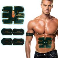 Nouveau style sans fil de muscle abdominal tonique corps tonique ABS ajustement poids entraînement musculaire ceinture de vitesse pour bras