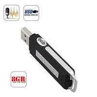 4 ГБ 8 ГБ USB диск цифровой диктофон USB флэш-накопитель мини диктофон WAV аудио диктофон с розничной коробке