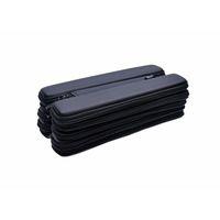 E портсигар Mini Longer случай Малой сумка на молнию для эго evod набор электронных сигарет черного цвета