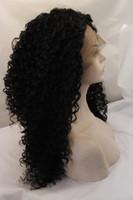 Жаростойкий 100% Glueless Синтетического парик фронта шнурок с париком волос младенца кудрявых фигурными париками для черных женщин дешевого парика женщины