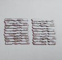 200pcs / lot 3D Métal A m g Aluminium Volant de la voiture Stickers Son Soundor Décoration de Cardoor