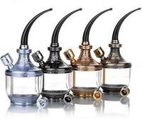 Atacado quente fumar acessórios luxo tubulação de água duplo filtro titular cigarro pode ser limpo ZB-509