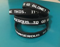 Custom Logo Print Cheap Black 12MM Wristband With Your OWn D...