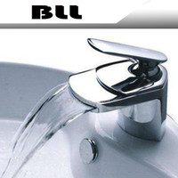 BLL Modern Chrome Bathroom Basin Brass Faucet Single Handle ...