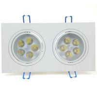 10W LED 램프 AC 85 ~ 265V 화이트 천장 알루미늄 스포트라이트 플러시 마운트 10 와트와 LED 드라이버 품질 실내 조명 조명기구 Lampada CE