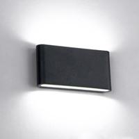 4 PC 6 W 12 W Cube Modern Up e down luz de parede LEVOU Arandelas De Parede Ao Ar Livre Indoor Luz de superfície montada luz para villa hotel AC100-240V