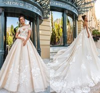 Sweetheart Vintage Lace Wedding Dresses 2017 New A- Line Wedd...
