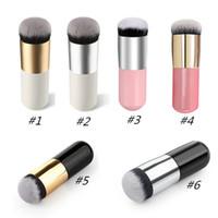Grand Tête Ronde Fondation Pinceau Maquillage Pinceaux Grand Visage Repulpant Poudre BB Crème Blush Pinceau Cosmétique Meilleur Maquillage Pinceaux Outils