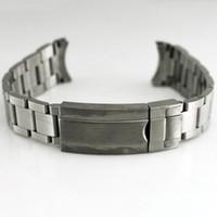 Cinturini per orologi in acciaio inossidabile 316L con cinturini in acciaio inossidabile con cinturini con fibbia per uomo Cinturini per orologi di alta qualità