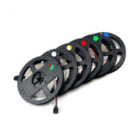 Upgrade Più luminoso di 3528 SMD RGB flessibile LED Strip light 300 LED / 5M String Lighting Decoration lamp Tape
