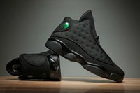 High Quality 13 XIII OG Black Cat Men Basketball Shoes 3M Re...