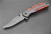 Envío gratis Browning DA43 cuchillo plegable 3 cr13 hoja mango de palo de rosa de procesamiento Tactical cuchillo de camping herramienta de bolsillo para abrir rápidamente el sur