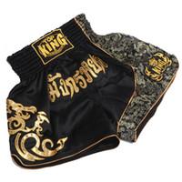 ММА обучение короткие мужские шорты тайский бокс муай тай Boxeo шорты ММА борьба стволы спортивные стволы спортивные шорты