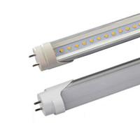5ft T8 ha condotto la luce del tubo 60 centimetri 90 centimetri 120 centimetri 150 centimetri 18w 24w doppi perni LED tubi fluorescenti lampadine 110lm / w bianco freddo AC85-265V