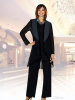 Fall Mother Of The Bride Pant Suits Special Occasion Gowns C...