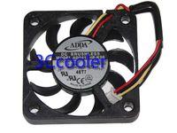 냉각 팬 새로운 원래 ADDA 40 * 40 * 7mm 12V 0.08A AD0412HB-K96 3Wire 4cm 히트 싱크