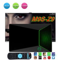 10 pcs original m9s z9 android tv caixa s912 octa-core cortex-a53 2g / 16g android 6.0 2.4g 5g dual-band wifi bluetooth inteligente media player