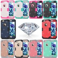 Back Cover Phone Case Luxury Bling Diamond PC TPU Waterproof...