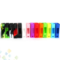 Evic VT Mini Silicon Case Evic VT 60W Skin Bag Colorful Soft Silicone Sleeve Cover Skin fit EVIC VTC Mini DHL Free