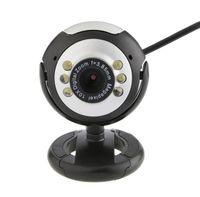 12.0 MP 6 LED USB веб-камера с микрофоном ночного видения для настольных ПК