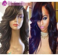 Best Sale 100% Glueless Full lace wigs Brazilian human hair ...
