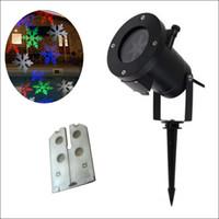 RGBW 12 conceptions Conceptions en mouvement automatique Noël vacances halloweeen Lights Outdoor Projecteurs de projection imperméables à l'eau LED projecteur d'éclairage laser