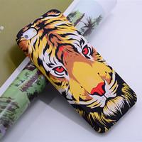 Nowy blask w ciemnym świetlistym Król Leśny Lion Wolf TPU Silicon Case Soft Cover dla iPhone6 6S plus 7 7Plus