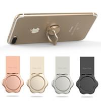 Держатель для телефона с магнитным металлическим кольцом и подставкой. Держатель для мобильного телефона. Стиль для iPhone 8 X Plus.