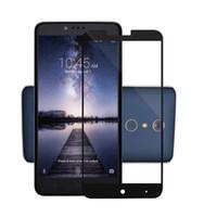 3D Полное Покрытие Закаленное Стекло-Экран Протектор Для Alcatel A30 Metropcs Для Alcatel Walters Fierce 2017 Metropcs С Бумажной Упаковкой A