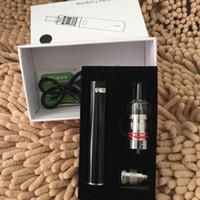 Белый черный цвет ego-19 батареи 2200mah E сигареты комплекты Sub ом испаритель 2 в 1 комплект сухой травы и воска испаритель ручка