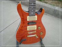 free shipping Personal Tailor 12 strings orange Electric gui...