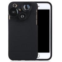 4 in 1 Practical Phone Case Cover Skin With Three Camera Len...
