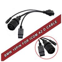 ALKcar 1 pz per BMW ICOM Motociclo cavo Icom D modulo 10pin, 10 pin ICOM D adattatore per diagnostica moto BMW Spedizione Nave