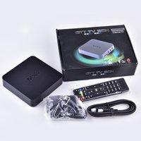 Android 4.4 MXQ TV Box Quad Core 8G Amlogic S805 Smart TV Box KD16.1 WIFI lleno de carga con soporte 3D Free Movies OTH035