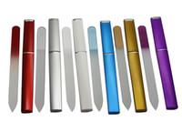 """10X calidad superior de los CRISTAL Lima de Cristal 5 1/2"""" con el compañero Caso duro # NF014 10 colorea el envío libre disponible"""