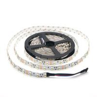 Bande 5050 RGB + 2835 blanche / chaude de la rangée RGBW RGBWW LED non imperméable de double rangée DC12V 120Leds / m