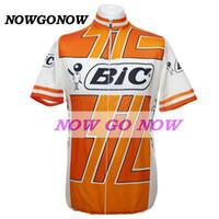 ciclismo maglia uomo giallo tour bic abbigliamento bici wear nowgonow Retro maglia estate pro racing ropa ciclismo mtb strada bicicleta simpatico