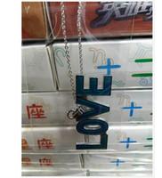 nouvelle arrivée mode LOVE lettre humeur collier changer de couleur collier