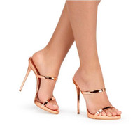 Sandalias de tiras de banda estrecha Sandalias de gladiador de piel de oveja de oro plateado Sandalias de tacón alto de mujer zapatos de tacón alto antideslizantes sandalias de mujer