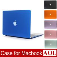 Funda de cristal transparente para Macbook Air Pro con Retina 11 12 13 15 pulgadas Nuevo Pro A1706 A1708 A1707 A1932 Funda para portátil + regalos gratis