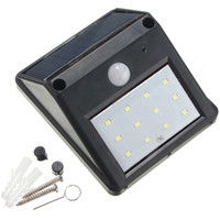 in stock sale 12 LED Solar Light Outdoor Powered Wireless PI...