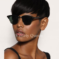 Rihanna Chic Pixie Cut Short human hair Wigs Hairstyle Cheap...