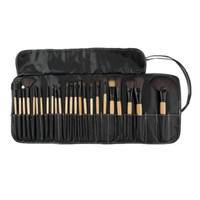 Wholesale-Professional 24 pcs  Brush Set tools Make-up Toiletry Kit Wool Brand Make Up goat hair Brushes Set pinceaux maquillage