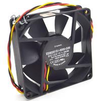 Оригинальный SUNON 8020 1.56 W EE80201S1-0000-G99 12 В 8 см вентилятор охлаждения