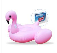 195 * 200 * 120cm piscina gigante cigno gommone galleggiante piscina giocattolo nuotata gonfiabili nuotare anelli pvc cigno gonfiabile