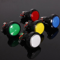 45mm Arcade Video Game Big Round Push Button LED Lighted Ill...
