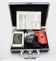 Blocco originale della fossetta elettronica Bump pistola del selezionamento con 25 teste pin con batteria NiMH fabbro DHL Nave veloce